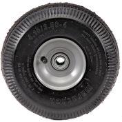 "Marathon 20011 4.10/3.50-4 Sawtooth Tread Pneumatic - 2.25"" Offset - 3/4"" Bearings"