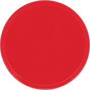 """Cambro 1950510 - Camtray 19.5"""" Round Low,  Signal Red - Pkg Qty 12"""