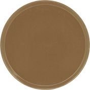 "Cambro 1550513 - Camtray 15.5"" Round Low,  Bayleaf Brown - Pkg Qty 12"