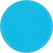 "Cambro 1550518 - Camtray 15.5"" Round Low,  Robin Egg Blue - Pkg Qty 12"