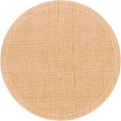 "Cambro 1950204 - Camtray 19.5"" Round Low,  Rattan - Pkg Qty 12"