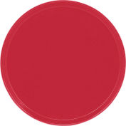 "Cambro 1550221 - Camtray 15.5"" Round Low,  Ever Red - Pkg Qty 12"