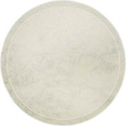 """Cambro 1550531 - Camtray 15.5"""" Round Low,  Galaxy Antique Parchment Silver - Pkg Qty 12"""
