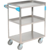 Carlisle® UC3031524 Stainless Steel Utility Transportation Cart 300 Lb. Capacity 24x15-1/2