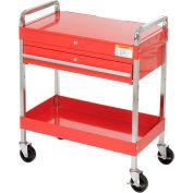 """SUNEX outils 8013A 30"""" chariot d'outil rouge W / verrouillage haut & tiroir"""