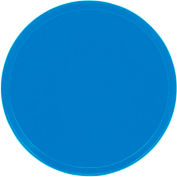 """Cambro 1550105 - Camtray 15.5"""" Round Low,  Horizon Blue - Pkg Qty 12"""