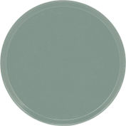 """Cambro 1950107 - Camtray 19.5"""" Round Low,  Pearl Gray - Pkg Qty 12"""