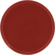 """Cambro 1950501 - Camtray 19.5"""" Round Low,  Real Rust - Pkg Qty 12"""