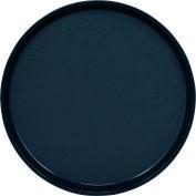 "Cambro PT1400110 - Tray Polytread 14"" Round,  Black - Pkg Qty 12"