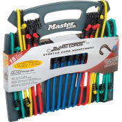 Master Lock® No. 3044DATSC Reverse Twin Bungee Organizer - 15 Count - Pkg Qty 4