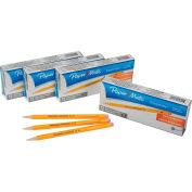 Paper Mate® Sharpwriter portemine, 0,7 mm, jaune, qté par paquet : 12