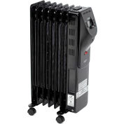 Comfort Zone® Digital Electric Oil-Filled Radiator Heater CZ9009 - 1500/900 Watt
