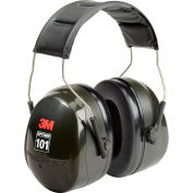 Protège-oreilles3M™ PELTOR™ Optime™ 101, avecbande sur la tête,H7A 10