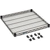"""Nexel® S1842B Black Epoxy Wire Shelf 42""""W x 18""""D"""