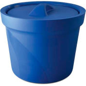 Bel-Art Magic Touch 2™ Ice Bucket with Lid 168074001, 4.0 Liter, Blue, 1/PK