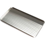 """Bel-Art Stak-A-Tray™ System Small Tray 186100470, 7""""L x 14""""W, Stainless Steel, 1/PK"""
