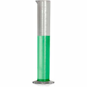 Bel-Art TPX® Graduated Cylinder 286950000, 500ml Capacity, 5.0ml Graduation, Clear, 1/PK