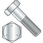 "Hex Cap Screw - 5/16-18 x 1/2"" - Carbon Steel - Plain - Grade 5 - FT - UNC - Pkg of 100 - BBI 846062"