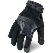 Ironclad® IEXT-GBLK-02-S Tactical Command Grip Gloves, Black, 1 Pair, S