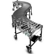 "BestFlex™ Powered Roller Conveyor BFP1524245 - 8'L to 24'L - 24"" BFW Steel Rollers 100 Lb./ft."