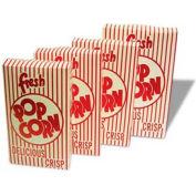 BenchMark USA 41549 Closed Top Popcorn Boxes 0.75 oz 100/ Boxes