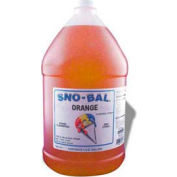 Snow Cone Syrups - Orange - Pkg Qty 4