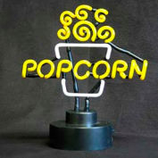 BenchMark USA 91001 Popcorn Topper Sign-Neon