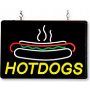 Benchmark USA 92002, Hot Dog Sign, LED