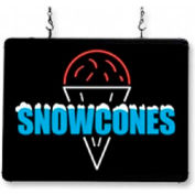 "LED Sign ""Snow Cones"""