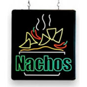 BenchmarkUSA-92004, LED Nacho Sign, 17x16x1-1/4""