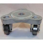 Bond® en fonte triangulaire Dolly 2076 - Semi jantes - 525 lb capacité acier