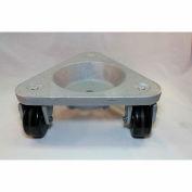 Bond® en fonte coupe triangulaire Dolly 3310 - roues phénoliques - 750 lb capacité