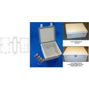 """Bud NBF-32134 UL/NEMA/IEC NBF série Style un intérieur Bx W / porte pleine 19,68"""" L x 15,74"""" P x 7,87"""" H"""
