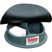"Behlen Country 3 Block Mineral Feeder Self-Closing Rubber Cover 40""L x 40""W x 8""H, 3 Compartments"