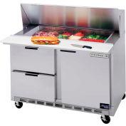 "Boisson Air® SPED48HC-08-02 alimentaire Prep Tables Sped48 Elite Series Standard Top W / tiroirs, 48"" W"