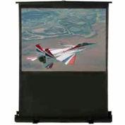 48 x 36 Matte White Fabric 4:3 Format Portable Floor Screen