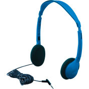 Kids Blue Personal Stereo/Mono Headphone