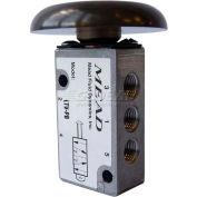 "Bimba-Mead Air Valve LTV-PB, 5 Port, 2 Pos, manuel, 1/8"" NPTF Port base Valve pour côté Mt"