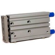 """Bimba-Mead Air Linear Guided Slide MTCL-63X100-S-T, Ball Bearing, 1/4"""" NPT, 63mm Bore, 100mm Stroke"""