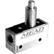 "Bimba-Mead Air Valve MV-45, Port 3, 2 Pos, mécanique, 1/8"" NPTF Port piston droite Actr"