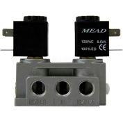 "Bimba-Mead Air Valve N2-DCD-240VAC, 5 Port, 2 Pos, Double solénoïde, 1/4"" NPTF, 240VAC"
