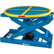 Positionneur de palette à carouselautonivelantBishamon® EZ Loader®, capacité de250 à4000 lb