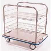"""Blickman OCC4 Open Cart affaire avec deux grilles métalliques, 42"""" L x 29"""" W x 40-1/4 """"H"""