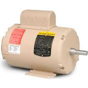 Baldor-Reliance Motor AFL3521A, 1HP, 3450RPM, 1PH, 60HZ, 56, 3524L, TEAO, F1, N