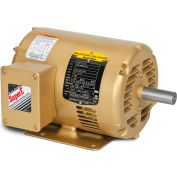 Baldor-Reliance CEM31155 2HP 3600RPM 56C Frame 3PH 230/460V, ODP, C-Face Rigid, Premium Efficiency