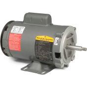 Baldor-Reliance Motor CJL1317A, 2HP, 3450RPM, 1PH, 60HZ, 56J, 3528L, OPEN, F1, N