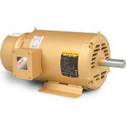 Baldor-Reliance Brake Motor, EBM3116T, 3 Phase, 208-230/460 Volts, 1 HP, 1765 RPM, OPEN, 143T Frame