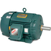 Baldor-Reliance Severe Duty Motor, ECP82333T-5, 3 PH, 15 HP, 575 V, 1765 RPM, TEFC, 254T Frame