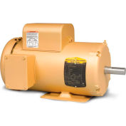 Baldor-Reliance Motor EL3609T, 3HP, 1755RPM, 1PH, 60HZ, 184T, 3640LC, TEFC, F1