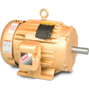 Baldor-Reliance HVAC Motor, EM3545-G, 3 PH, 1 HP, 230/460 V, 3600 RPM, TEFC, 56 Frame